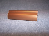 Bronze Finish for Plastic Extrusions
