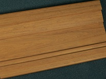 Wood Grain Profile for Plastic Extrusions